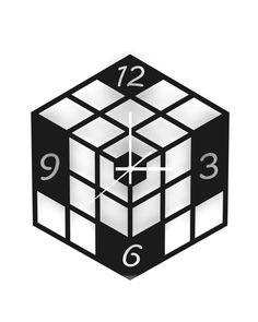 Infinideas Wall Clock 【Cube】