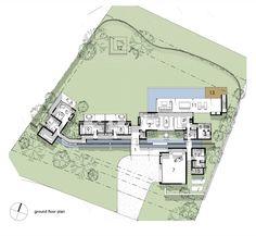 Imagen 16 de 19 de la galería de Casa Muro Espina / Drew Architects. Planta Baja