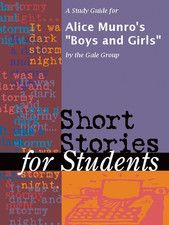 # Boys and Girls # by Alice Munro: My father was a fox farmer. That is, he raised silver foxes, in pens; and in the fall and early winter, when their fur was prime, he killed them and skinned them and sold their pelts to the Hudson's Bay Company or the Montreal Fur Traders. To read more click on the below link: http://www.sayyourstory.com/story-details/women-writers/boys-and-girls/TVRNNUkyRmpkUT09