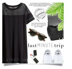 """""""Last Minute Trip"""" by fashion-bea-16 ❤ liked on Polyvore featuring adidas, rag & bone, H&M, Sigma Beauty, ZeroUV, Urbanears and lastminutetrip"""