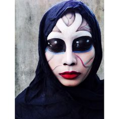 #Halloween #SephoraSelfie look: Alien Makeup by kayemraposas. Tag your pics with #SephoraSelfie for a chance to be featured!