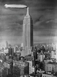 Empire state building, Empire state and Under construction