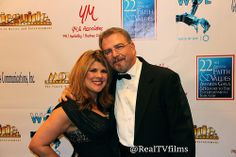 Yvette Morales, Bill Engvall, Backstage Movieguide Awards Gifting Suite