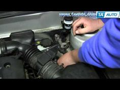 How To Install Replace Clutch Master Cylinder 2001-06 Hyundai Elantra - YouTube