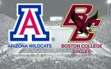 Fantastic! Local Boston College will play Arizona in our company's  ADVOCARE V100 NCAA Bowl game on ESPN Dec. 31  11:30 AM. Can't wait. #bceagles,#bcfootball,#bostoncollege,#arizona,#advocarev100,#bowlgame,#buildachampionlife,#collegefootball