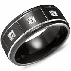 Crown Ring - Collections Alternative Metal Cobalt Black Cbb 2132