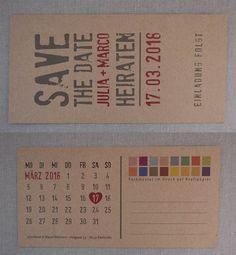 Hochzeitskarten aus Kraftpapier / Kreative handgefertigte Hochzeitskarten / Kraft paper wedding invitations / Einladungskarten Kraftpapier