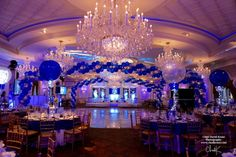 Ski Themed Bar Mitzvah - Magnificent Party Rooms