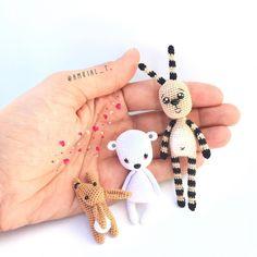 Mis mini mascotas Gorjuss espero que no sean las últimas!!! Cuál os gusta más?…