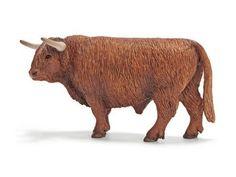 Schleich Cow: Scottish Highland Bull