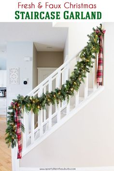 Tips and Ideas for simple holiday home decorating. Come take a tour of my home, all decked out for the happiest season of all!