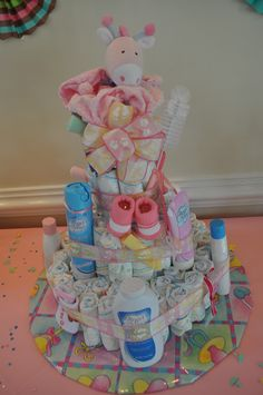 With all my friends having babies... baby shower idea