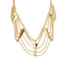 I love the All the Rage Spiked Chain Necklace from LittleBlackBag