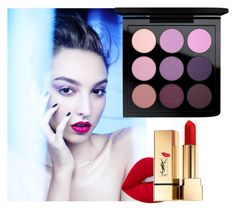 """""""pretty girl"""" by pamelacarneiro on Polyvore featuring beleza, MAC Cosmetics, Lime Crime e Yves Saint Laurent"""