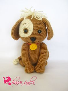 amigurumi dog pattern $10