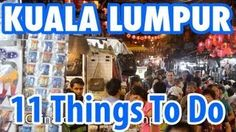 I really like Kuala Lumpur! 11 Amazing Things To Do in Kuala Lumpur, Malaysia I really like Kuala Lumpur! 11 Amazing Things To Do in Kuala Lumpur, Malaysia Travel Videos, Travel Tips, Travel Destinations, Borneo, All Inclusive Resorts, Hotels And Resorts, Kuala Lumpur Travel, Malaysia Travel Guide, Thailand
