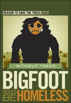 Big Foot Poster