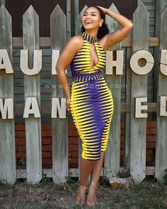 Spice Up Your Look With These Trend-Setting Ankara Styles - Wedding Digest Naija African Print Dresses, African Print Fashion, African Fashion Dresses, African Dress, Fashion Prints, African Attire, African Wear, African Women, Ankara Stil