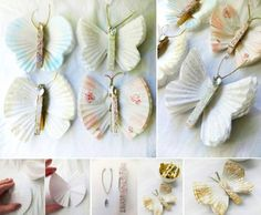 Butterfly Crafts With Cupcake Liners | DIY Tag