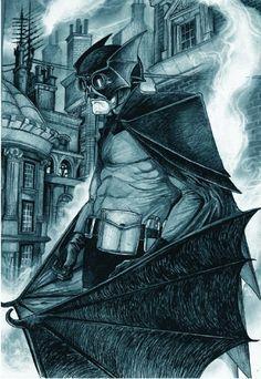 Victorian Batman by David Hitchcock