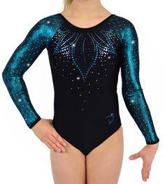 Flora - Raglan Teal - Di's Designs - Gymnastics Leotard #gymnastics #gymnasticsleotard #leotard #artisticgymnastics #gymsuit #gymnast #artisticgymnastics