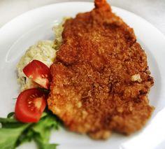 Denné menu Vranov | Bulharský rezeň, zemiakový šalát - reštaurácia Hotel Patriot*** #hotel #restauracia #dennemenu