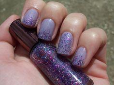 Cheap and Chic look: Nail polish TAG My Nails, Nail Polish, Glitter, Tags, Chic, Beauty, Purple, Shabby Chic, Elegant