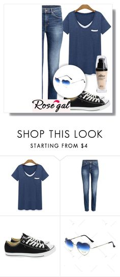 """Rosegal 30"" by mini-kitty ❤ liked on Polyvore featuring Converse, women and rosegal"