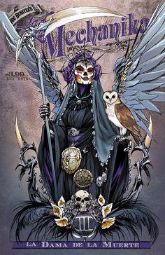 Lady Mechanika: La Dama de la Muerte #3 (Cover A) | Benitez Productions