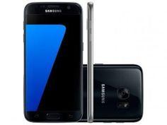 "Smartphone Samsung Galaxy S7 32GB Preto 4G - Câm 12MP + Selfie 5MP Tela 5.1"" Quad HD Octa Core"