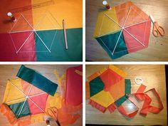Φτιάξτε μόνοι σας έναν παραδοσιακό χαρταετό!   Φτιάξτο μόνος σου - Κατασκευές DIY - Do it yourself