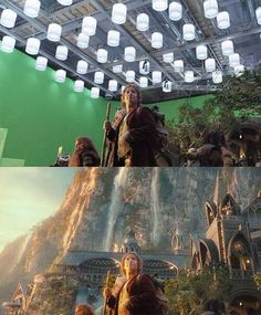 【実はこうなってました…!】映画撮影の舞台裏「ビフォー・アフター」がスゴイ9枚   COROBUZZ