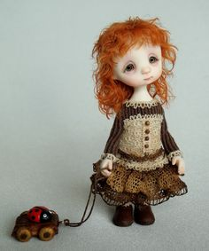 *SORRY, no information as to product used ~ Lisa - original doll by Ana Salvador