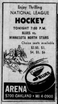 Minnesota North Stars, Blues Nhl, Newspaper Archives, Go Blue, National League, Hockey Teams, Letting Go, Let It Be, Baseball