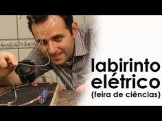 Labirinto elétrico (experiência de física - feira de ciências)