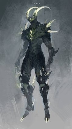 Nidus by on DeviantArt Fantasy Character Design, Character Design Inspiration, Character Art, Monster Concept Art, Fantasy Monster, Fantasy Dragon, Fantasy Armor, Creature Concept Art, Creature Design