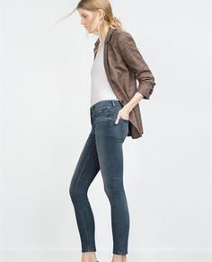 MID - RISE SKINNY JEANS - View all - Woman - NEW IN | ZARA Georgia
