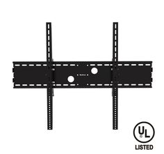 """QualGear® QG-TM-091-BLK UL Listed Heavy Duty Tilting TV Wall Mount for Most 60""""-100"""" Flat Panel and Curved TVs, Black"""