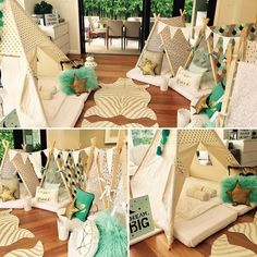 Australia's First and Sydney's original Teepee Slumber Party specialists, Sleepovers for boys and girls. Sleepover Room, Sleepover Birthday Parties, Teepee Party, Teepee Tent, Party Props, Party Themes, Party Ideas, Spa Party, Kids Church