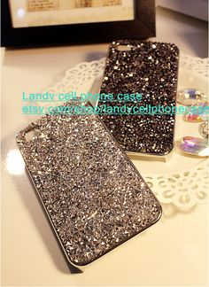Popular rhinestone iphone 5s case iphone 5c case by landystyle