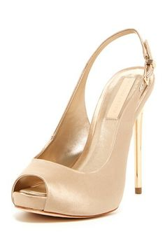 Peyton Peep Toe Stiletto Heel by BCBGMAXAZRIA on @HauteLook