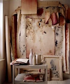 blush, terracotta & rust interior