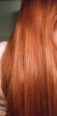 Ginger hair :) and love how long it is....