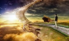 Stairway to heaven by Fantasy-Seeker.deviantart.com on @DeviantArt