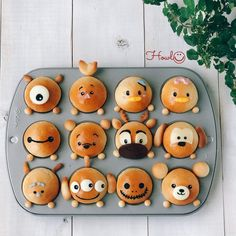 Tsum Tsum bread by ( You can always count on Japan for cute and delicious baked goods! Kawaii Bento, Cute Bento, Cute Food, Good Food, Yummy Food, Animal Shaped Foods, Finger Foods For Kids, Japanese Bread, Bread Shop