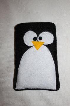 Handy- IPhone-Tasche Pinguin