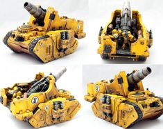 30k, Imperial Fists, Legion, Medusa, Tank
