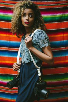 Photo: Amber French * Handmade Leather Camera Straps * Beautiful Style * Lasts forever * Boho vibes