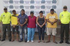 Policía Nacional captura integrantes de 'Los Yopes', en Riohacha