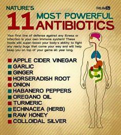 Nature's most powerful antibiotics